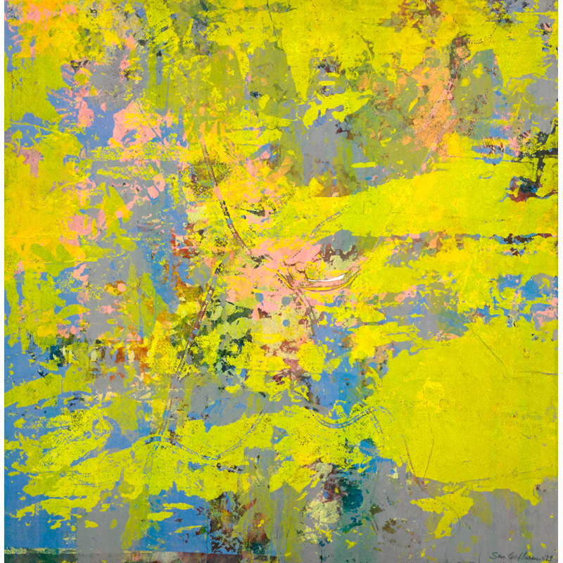 Sam Gilliam Seraphin Gallery Philadelphia Art Gallery