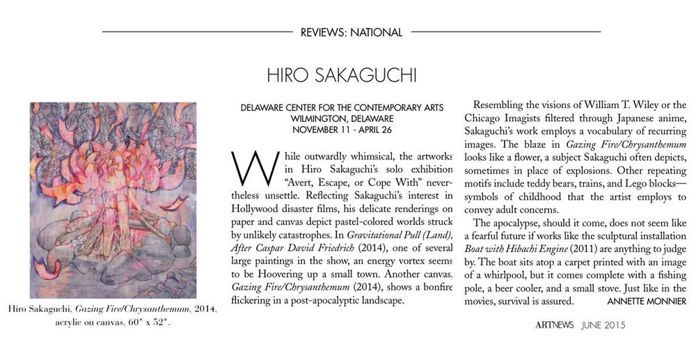 Hiro Sakaguchi Review Seraphin Gallery Contemporary Art Gallery