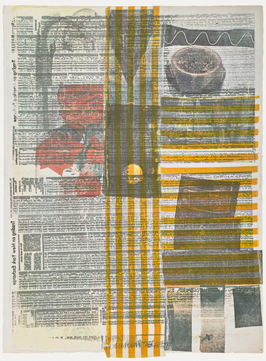 Robert Rauschenberg Print Seraphin Gallery Philadelphia Art Gallery