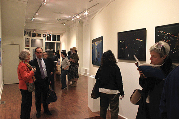Opening Reception for Yvonne Jacquette: Aerials, October 23, 2015