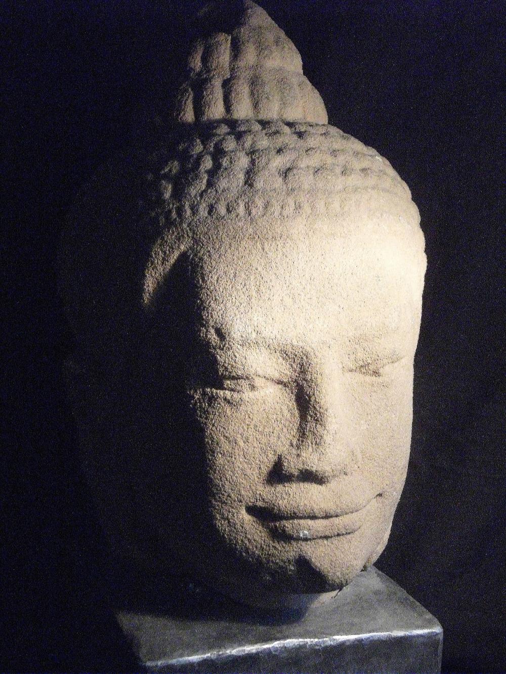 2502/20  Buddha Head