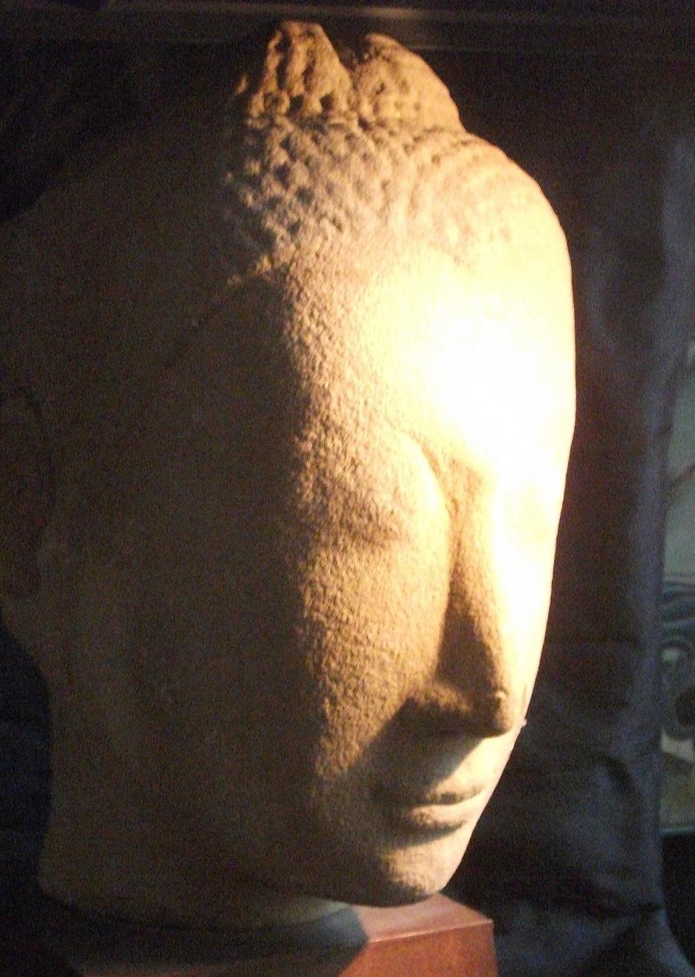 2503/6  Ayutthaya Buddha Head