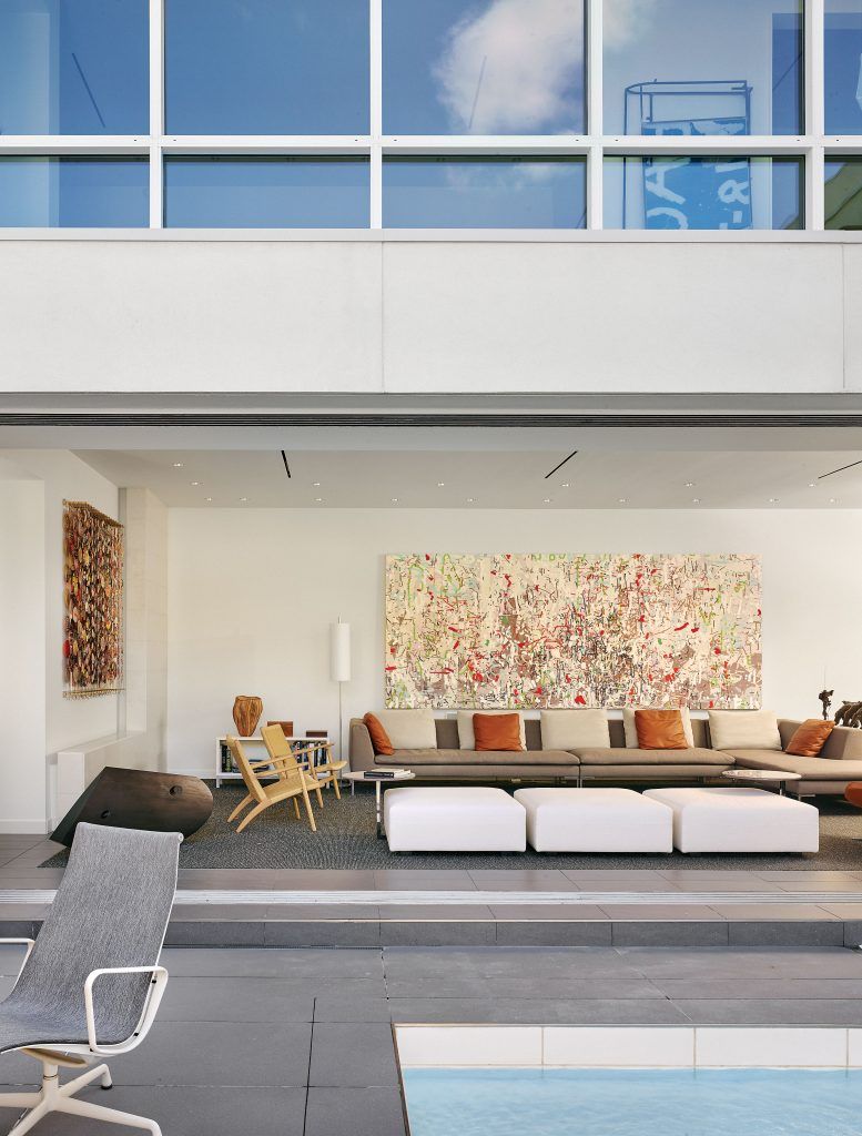 Wayne Braun's house in Houston's Museum District Courtesy of Paper City Magazine: photography by Casey Dunn for Sisterbrother MGMT