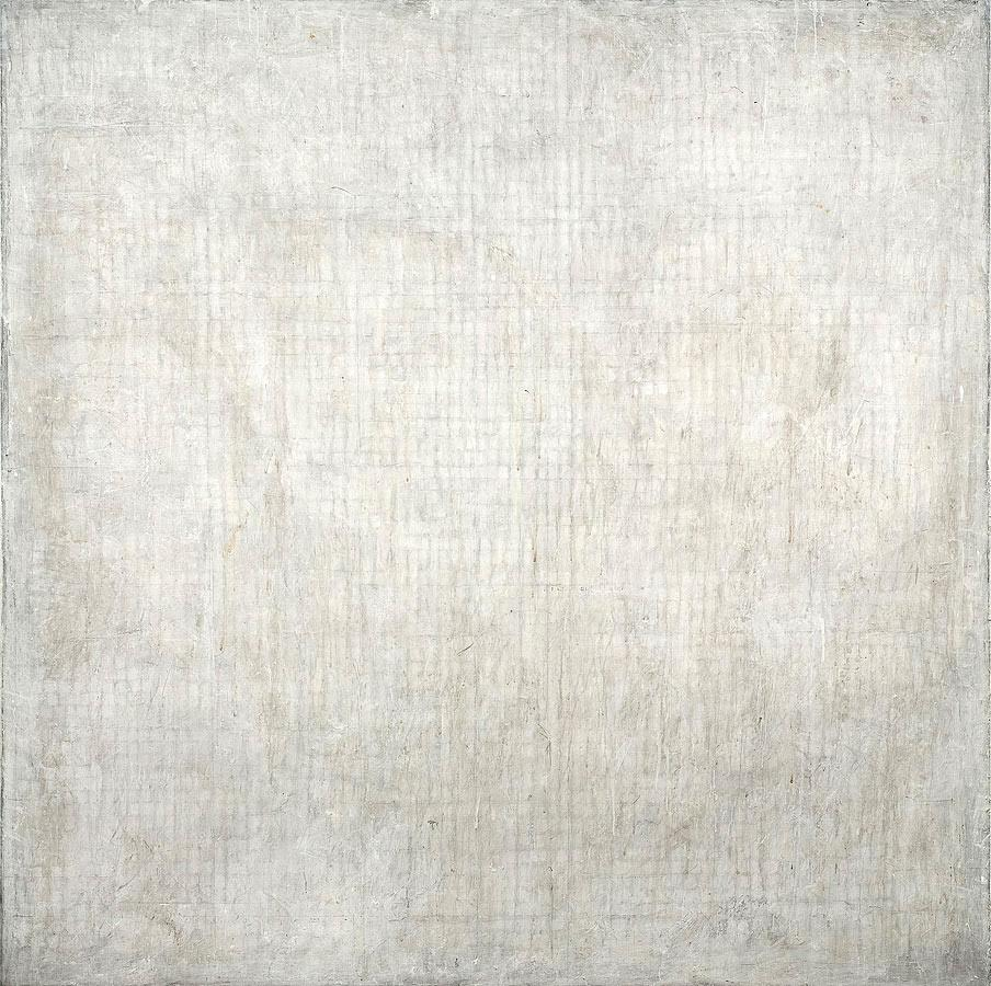 "Howard Silberthau, Untitled, 2014, Oil on canvas, 62"" x 62"""