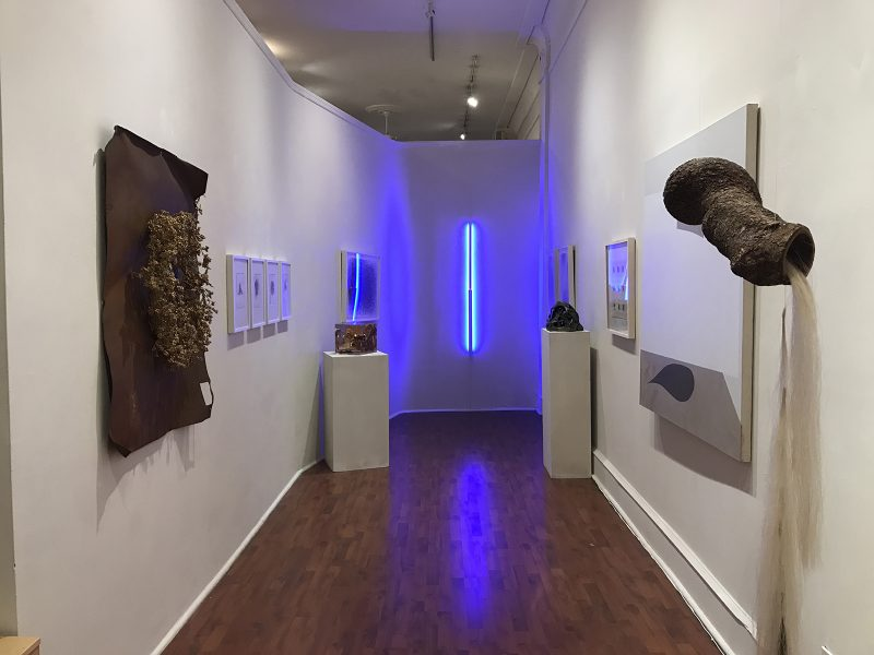 Group Show, Gallery 2 (Seraphin Gallery), curated by Alyssa Laverda.