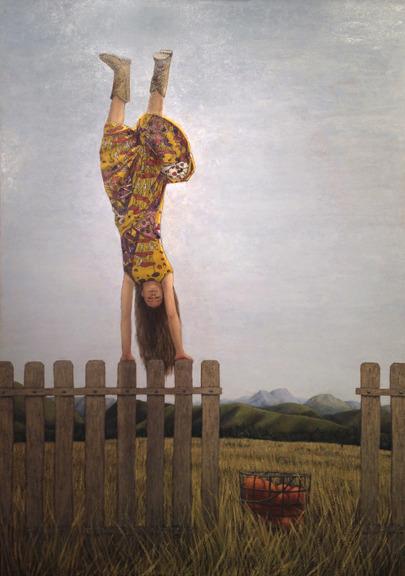 The Handstanding Girl