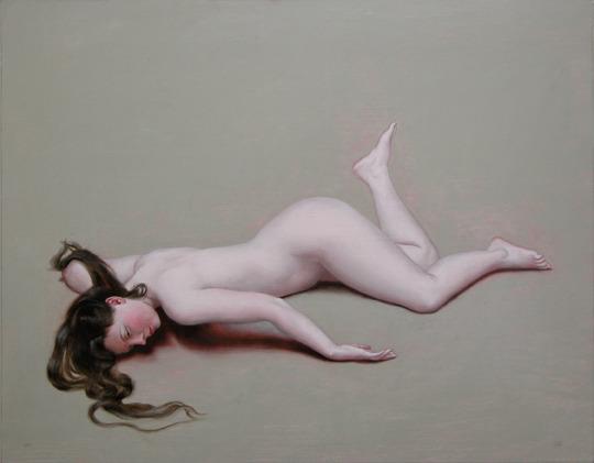 Nude with Raised Leg