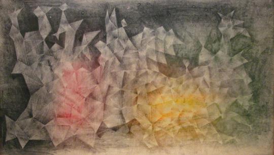 Untitled, Multi-Colored Web