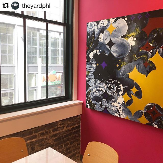 #Repost @theyardphl ・・・ Find your nook #homeofficeday art: @jeffcylkowski curated by @seraphingallery