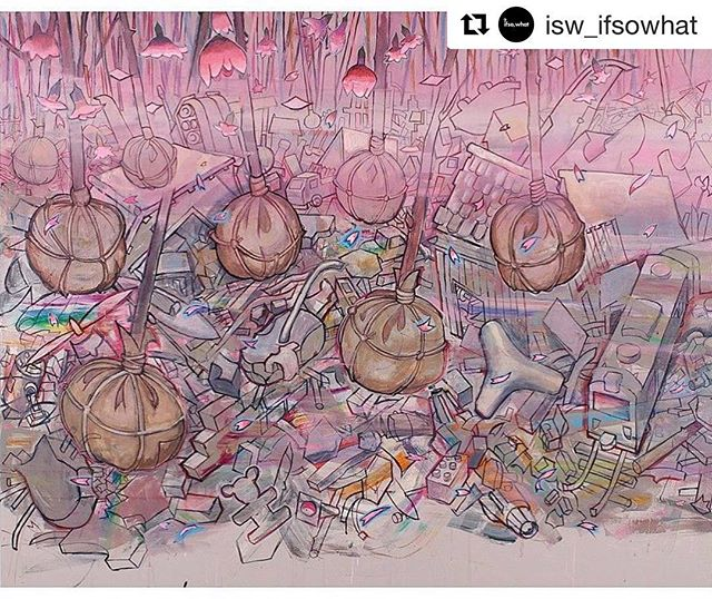 """#Repost @isw_ifsowhat ・・・ """"I am interested in making an object which contains a fictional realm that is relevant to my experience as an artist and an individual. I depict images gathered from my everyday experience and memory...I am after a story in which I myself would like to dwell. I am after the emotion I associate with those images."""" - Hiro Sakaguchi, whose works will be on view at If So, What? with @seraphingallery this April⠀ ⠀ Hiro Sakaguchi, Preparation for Spring, 2013, Courtesy Seraphin Gallery⠀ ⠀ #hirosakaguchi #serpahingallery #sanfrancisco #ifsowhat #palaceoffinearts #siliconvalley"""