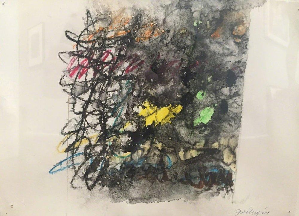 "Michael Goldberg,  Untitled 21 , Watercolor on paper, 16 1/2"" x 19 1/2"""