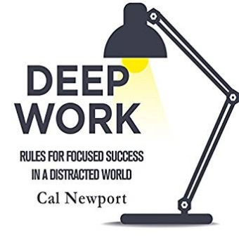 Recommended Read - Deep Work by Cal Newport explores the rules for focused success in a distracted world