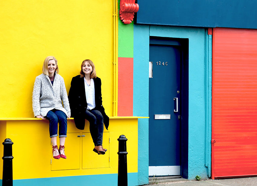 Louise Padmore and Abby Hubbard, Founders of Work Well Being