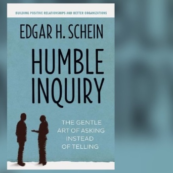 Recommended Read - To support you in fostering more positive communication check out Humble Inquiry by Edgar H Schein