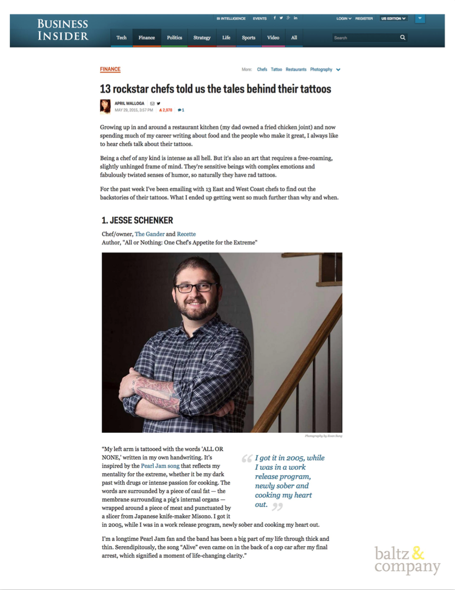 Business Insider, May 2015