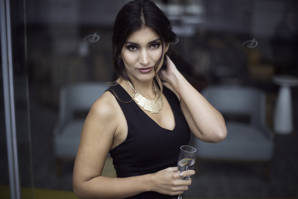 GILDED  Model: Vivian Ramirez
