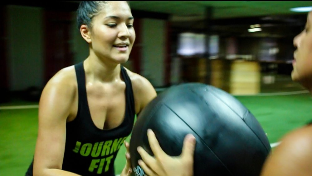 Fitness is a Journey, work at it everyday without hesitation. - Journeyfit