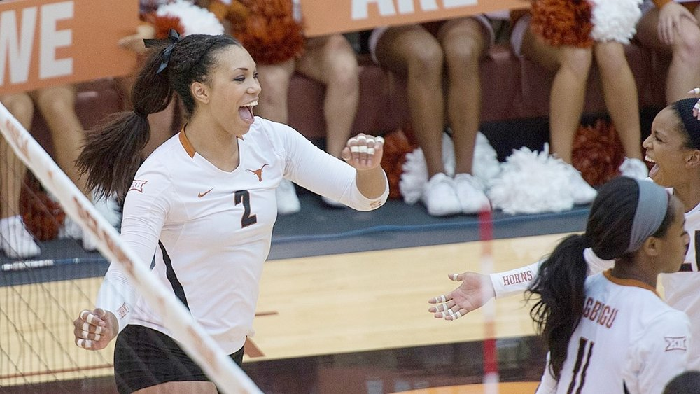 Ebony Nwanebu University of Texas OPP AVCA All American