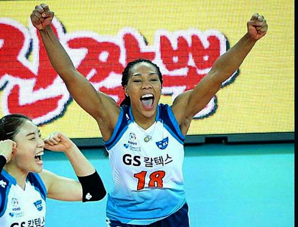 Khat Bell  University of Texas OH   AVCA All -American 2012 NCAA Volleyball National Champion    Professional Volleyball Player