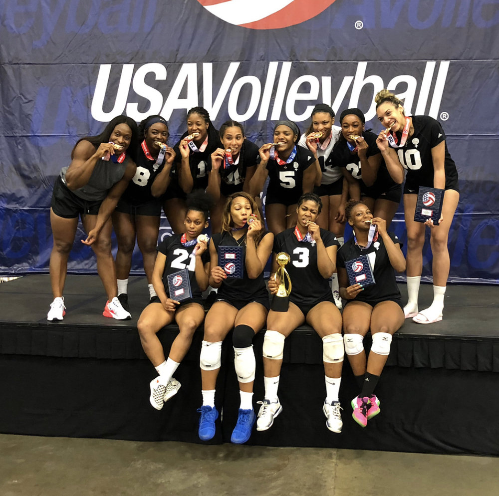 Coach Victoria leads USAV professional team to victory taking GOLD at nationals.