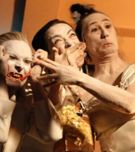 butoh Improvisation with Sheri Brown and Joan Laage 2009 Photo Briana Jones