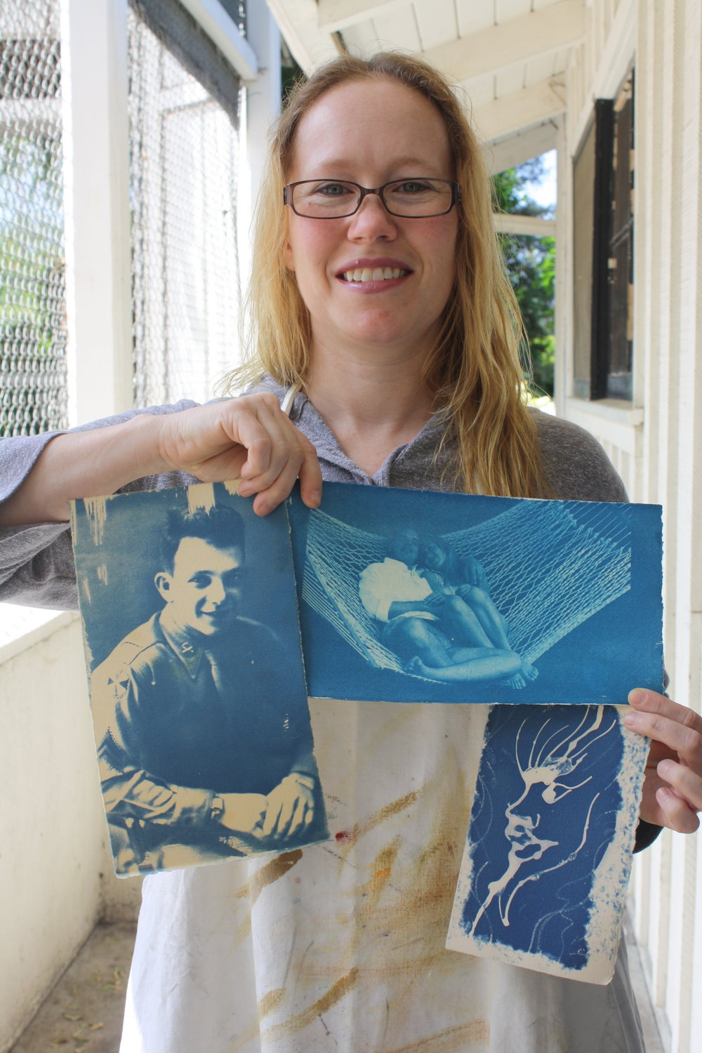 Miles Lewis' Cyanotype Workshop - Spring 2015