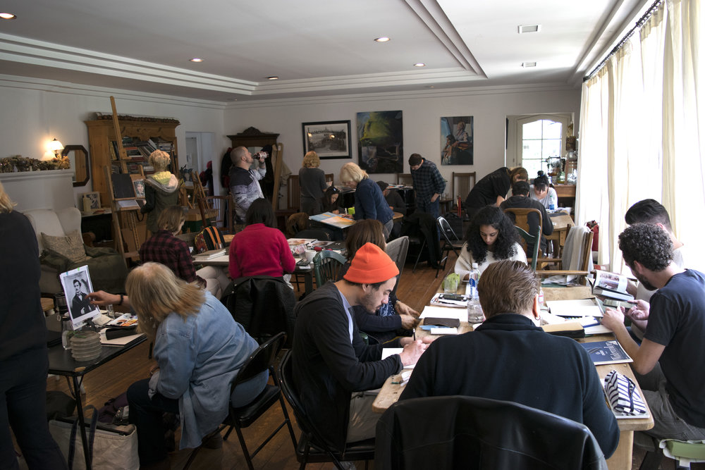 Nick Runge Watercolor Workshop