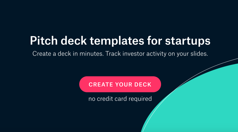 templates pitch deck examples