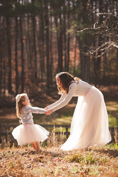 Mother Daughter Tulle Skirt Tutu Sets