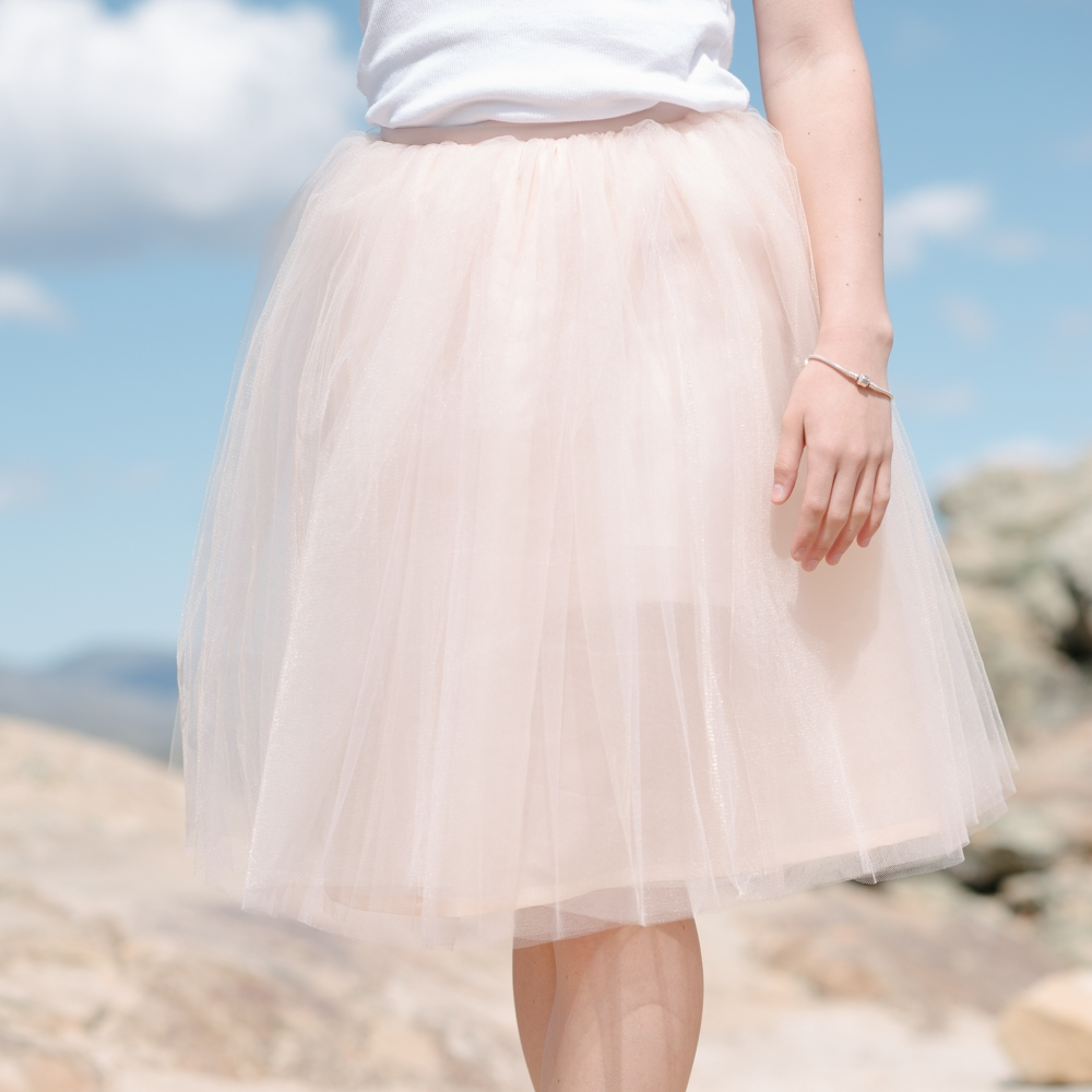 Women's Signature Tulle Skirt in Blush