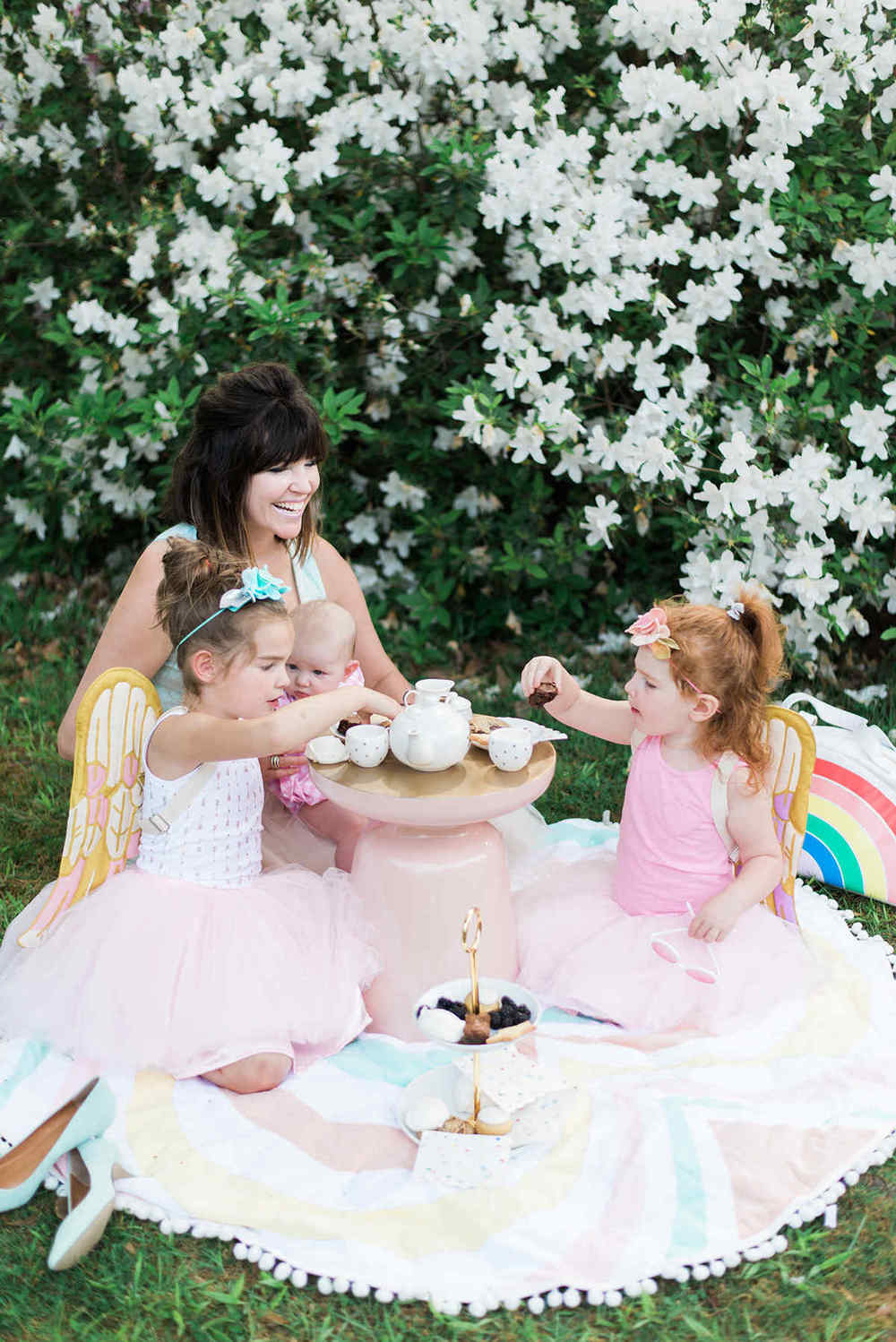 Mother Daughter Matching Midi Tulle Skirts