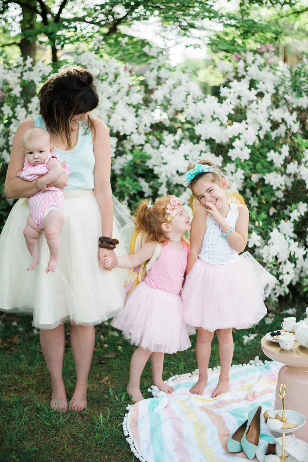 Mother Daughter Matching Tulle Skirts