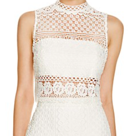 Bloomingdale's Lace Crop Top