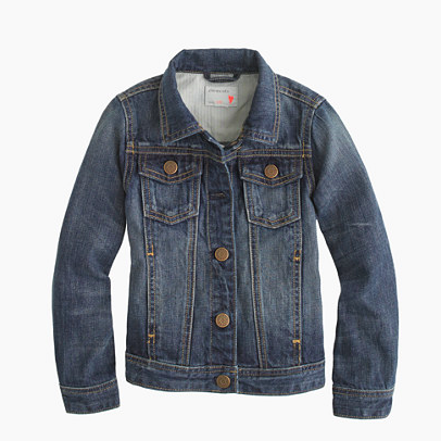 J. Crew Washed Denim Jacket