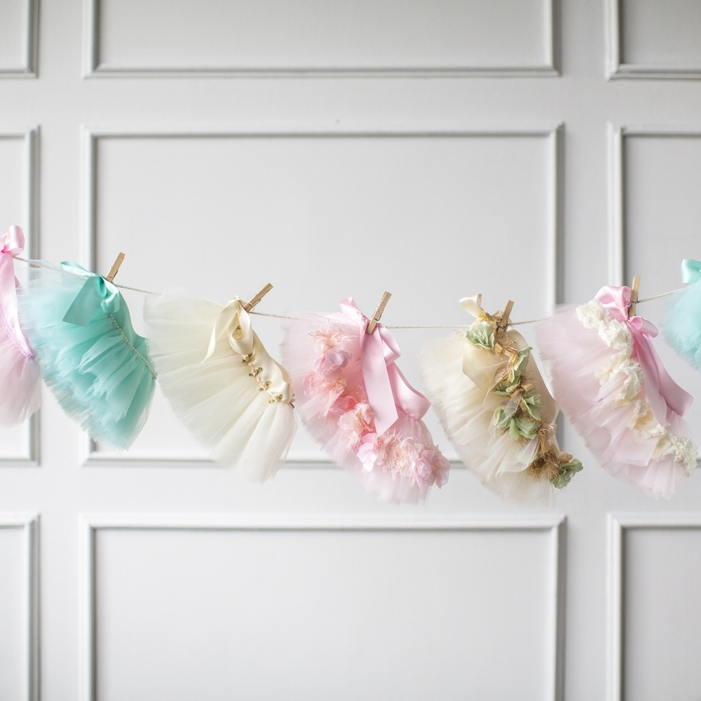 Newborn Tulle Skirts