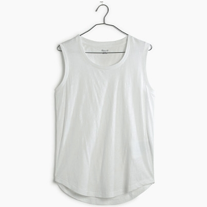 Madewell Cotton Crewneck Tank