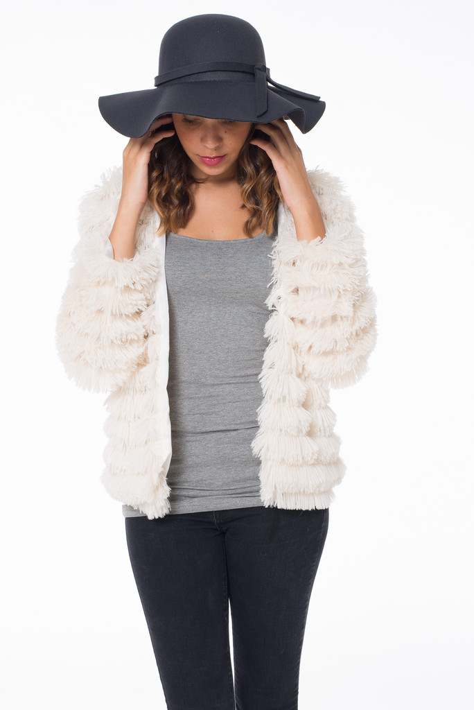 White Out Fur Jacket