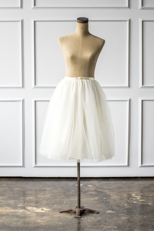 Signature Tulle in Ivory