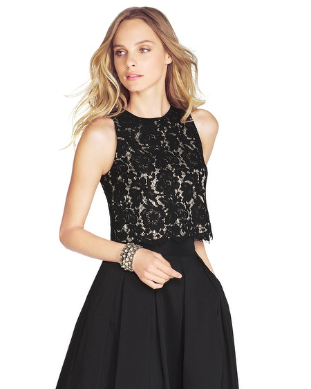 Black Lace Bodice