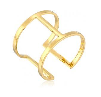 Vince Camuto Gold Open Cuff Bracelet