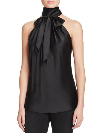 Ramy Paige Tie Neck Silk Top