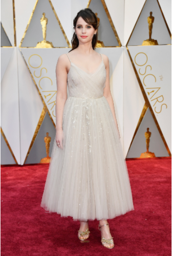 Felicity Jones Oscars 2017