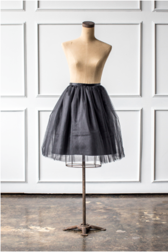 Signature Skirt in Black