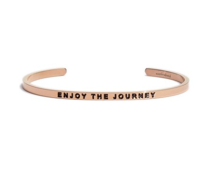 'Enjoy the Journey' Cuff MANTRABAND