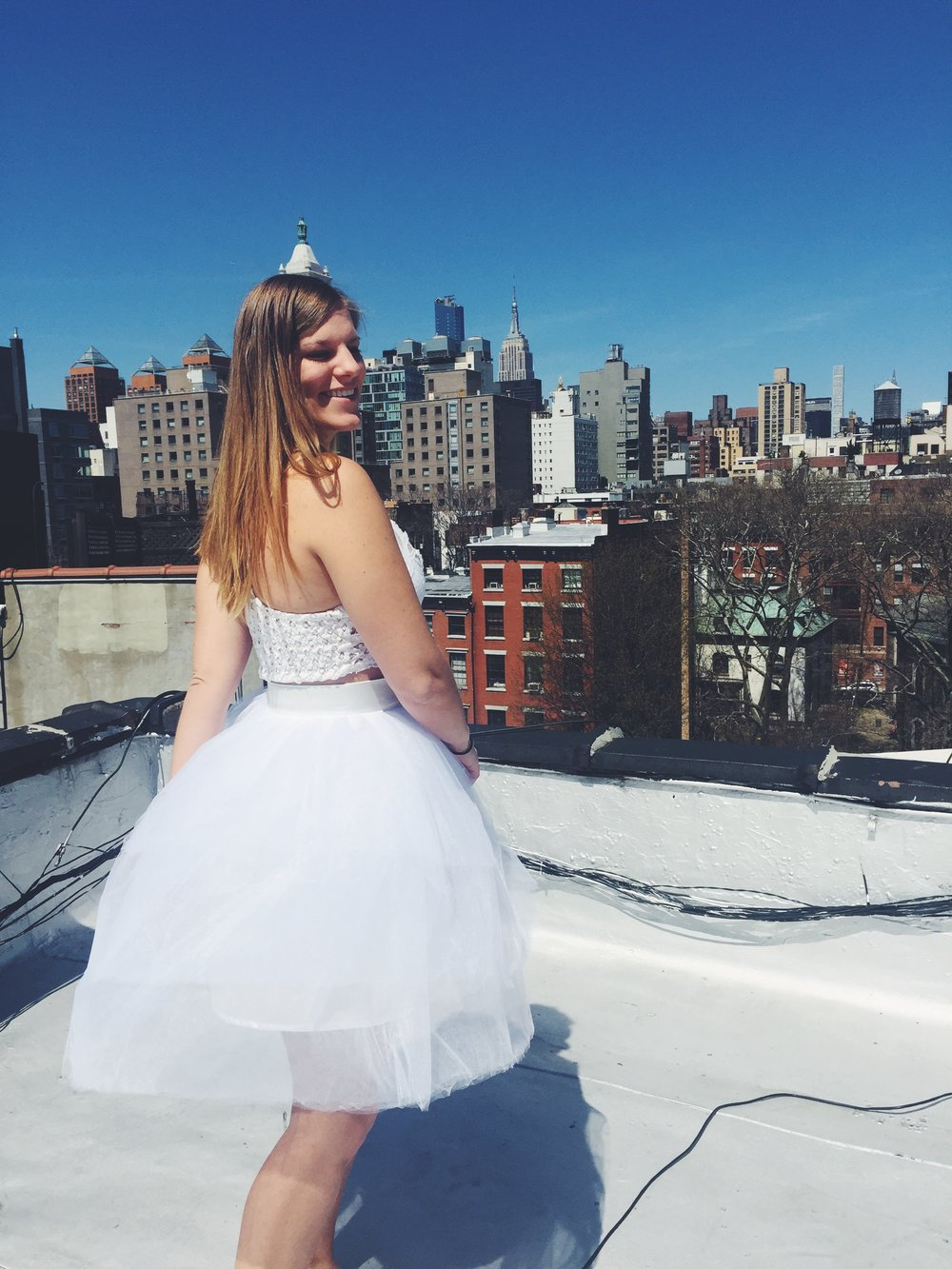 NYC tutu- Layered Tulle Skirt
