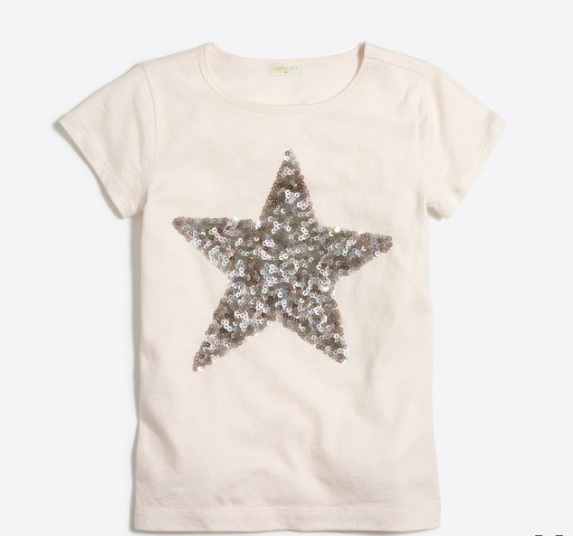 Sequin Star JCrew