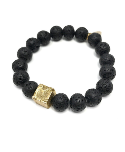Mickey Lynn Lava Bracelet in Black