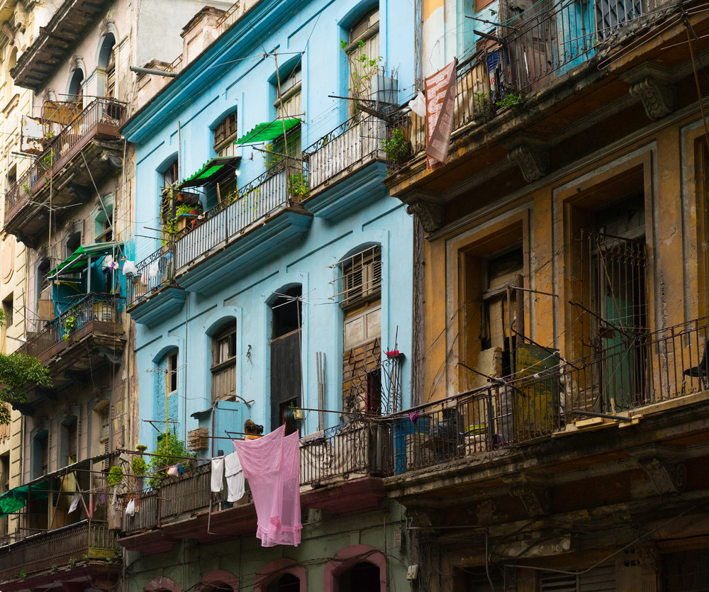 Some of the texture that surrounds you as you walk through Havana's bustling streets.