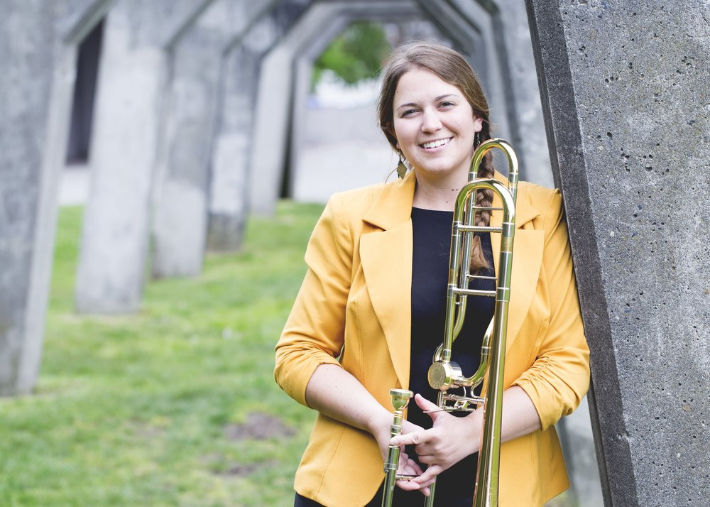 Nicole Tanner teaches brass, piano, and voice