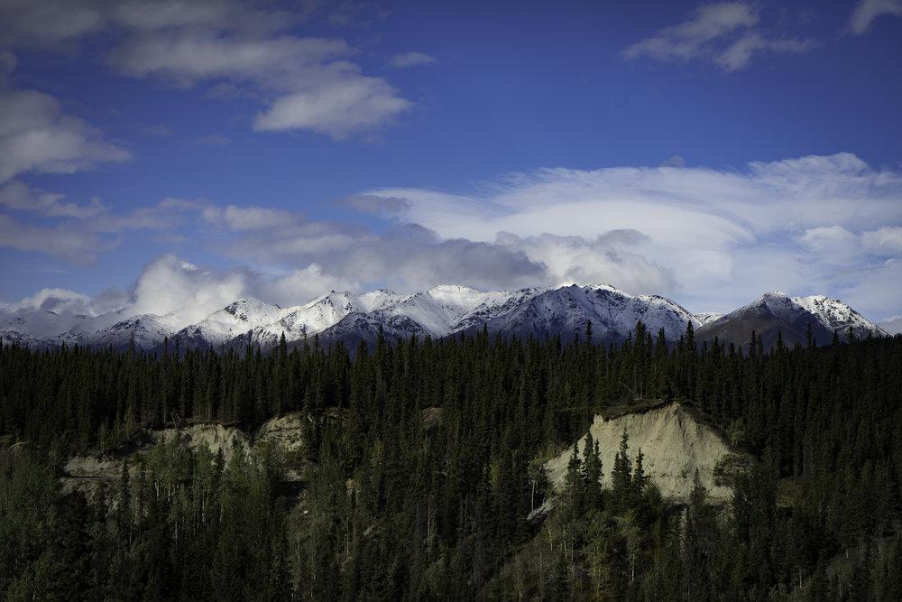 Wrangells Mountains - Copper Center, AK